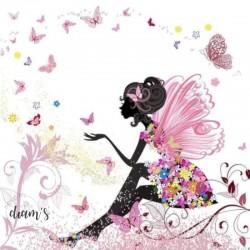 Fée aux papillons -...