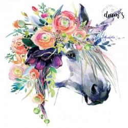 Licorne fleurie style...