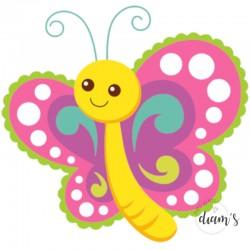 Papillon enfantin -...