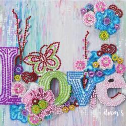 LOVE Printanier - Strass...