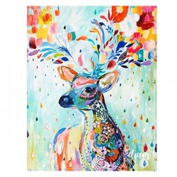 Cerf majestueux - Toile...