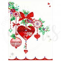 Branche romantique de Noël...