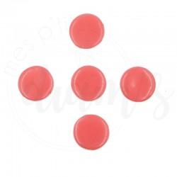 Ronds de glue/cire rose -...