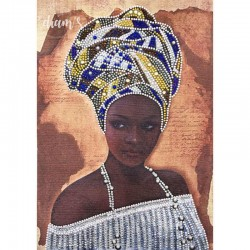 Beauté Africaine - Strass...