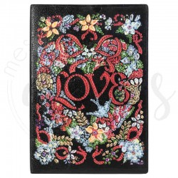Carnet LOVE - Bloc note -...
