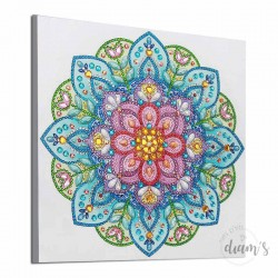 Fleur de Mandala - Strass...