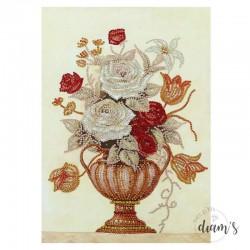 Vase d'automne - Strass...