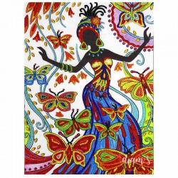 La danseuse aux papillons -...