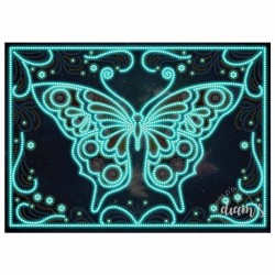 Papillon phosphorescent -...