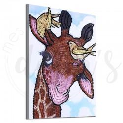 Mignon girafon - Strass...