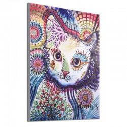 Chat contemporain - Strass...