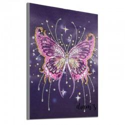 Papillon dans la nuit...