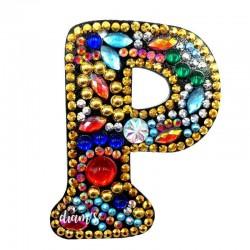 Porte-Clé Lettre P -...